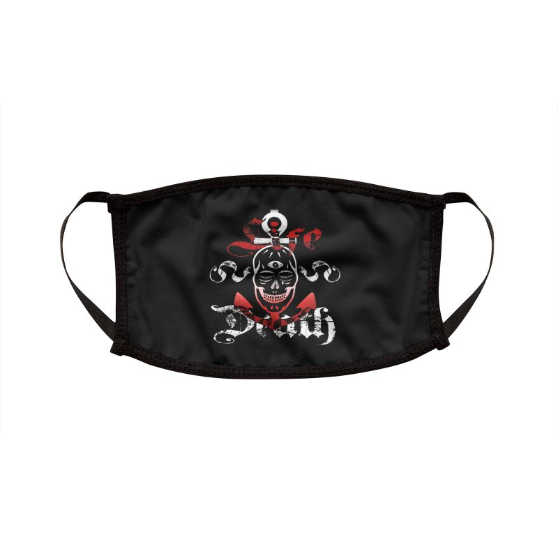 Skull Ankhor Accessories Face Mask by BRAVO's Shop