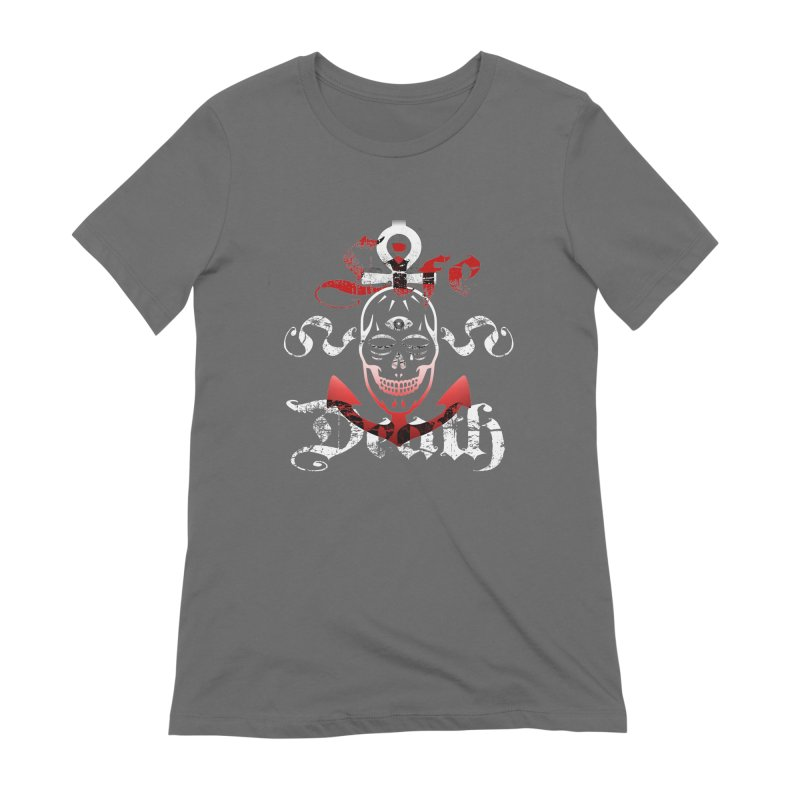 Skull Ankhor Women's Extra Soft T-Shirt by BRAVO's Shop