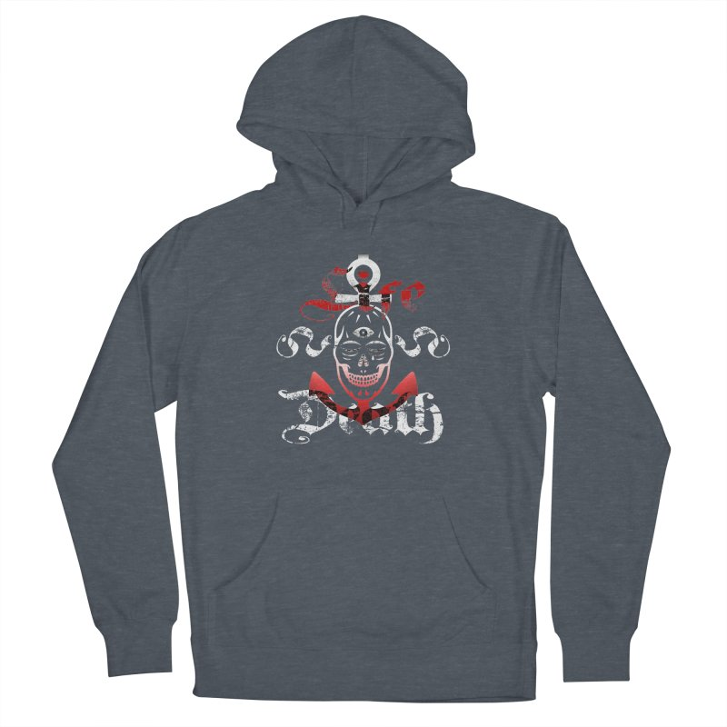 Skull Ankhor Women's French Terry Pullover Hoody by BRAVO's Shop