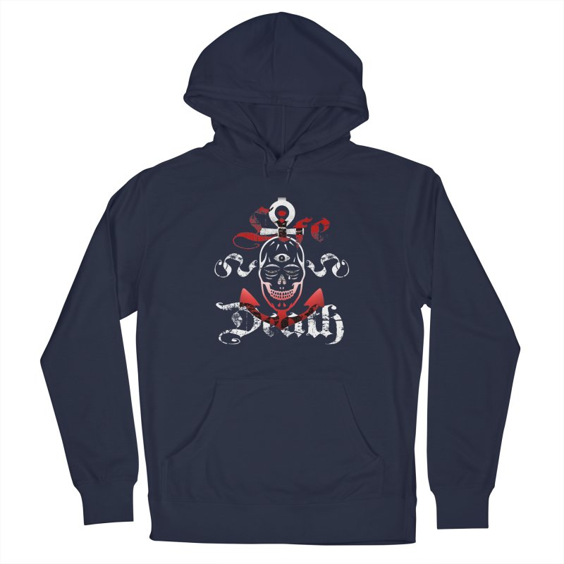 Skull Ankhor Men's French Terry Pullover Hoody by BRAVO's Shop