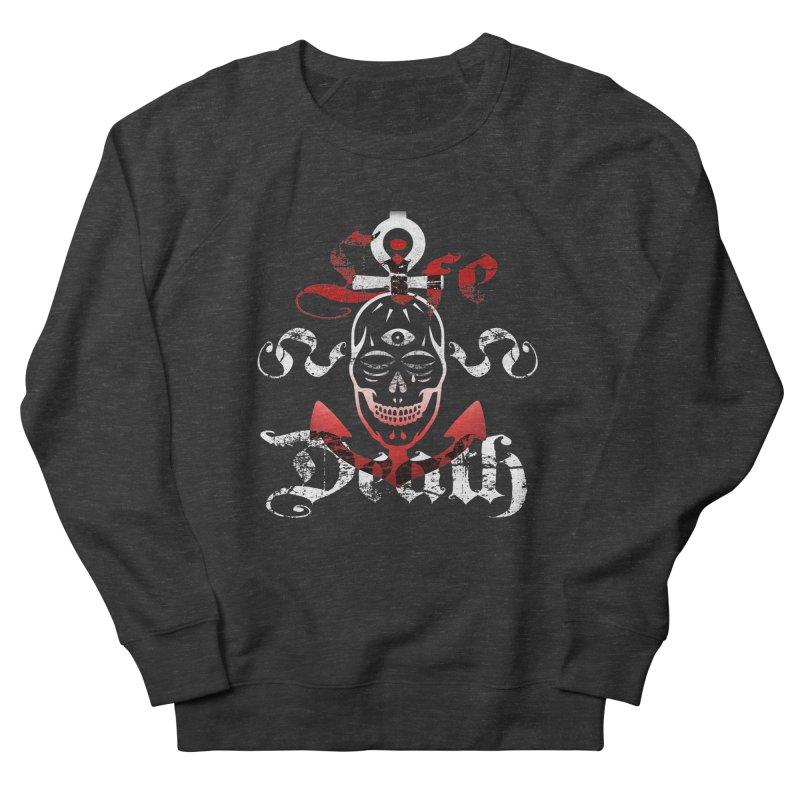 Skull Ankhor Women's French Terry Sweatshirt by BRAVO's Shop