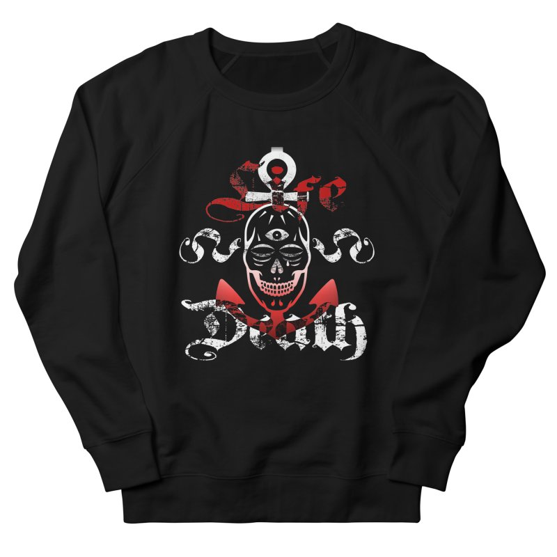 Skull Ankhor Men's French Terry Sweatshirt by BRAVO's Shop
