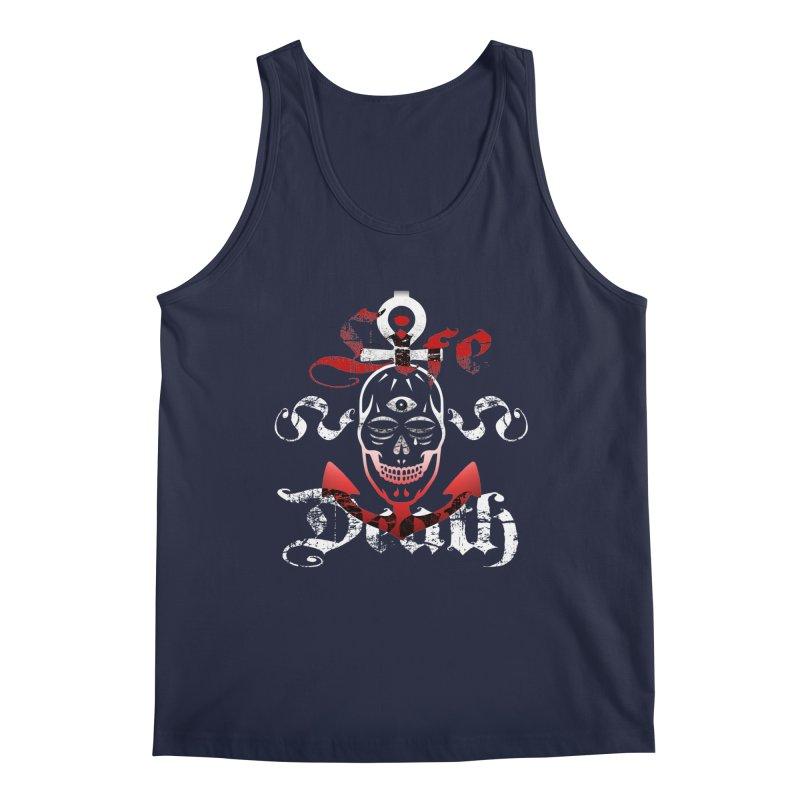 Skull Ankhor Men's Regular Tank by BRAVO's Shop