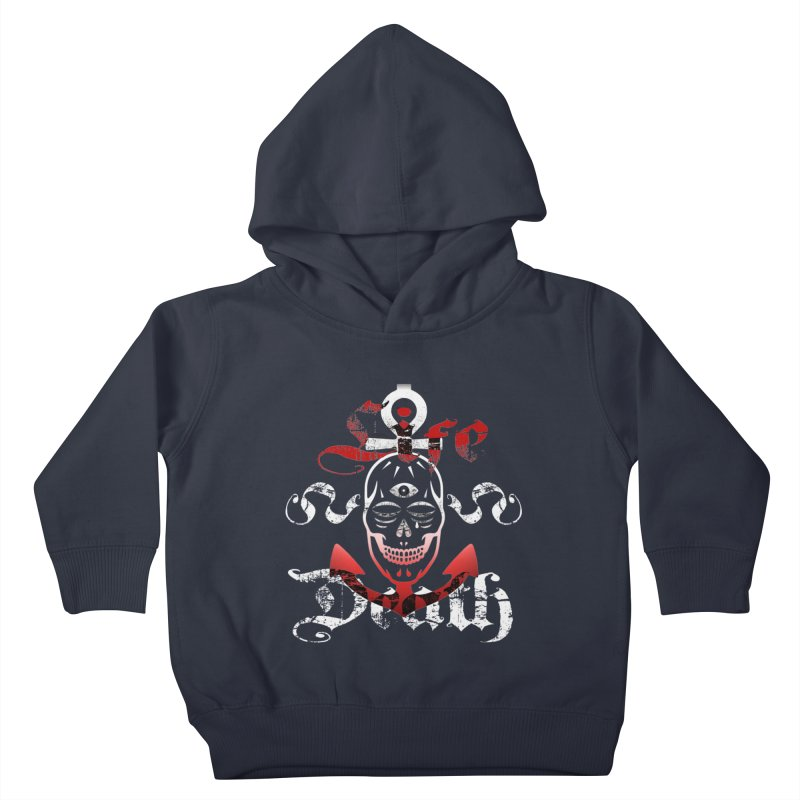 Skull Ankhor Kids Toddler Pullover Hoody by BRAVO's Shop