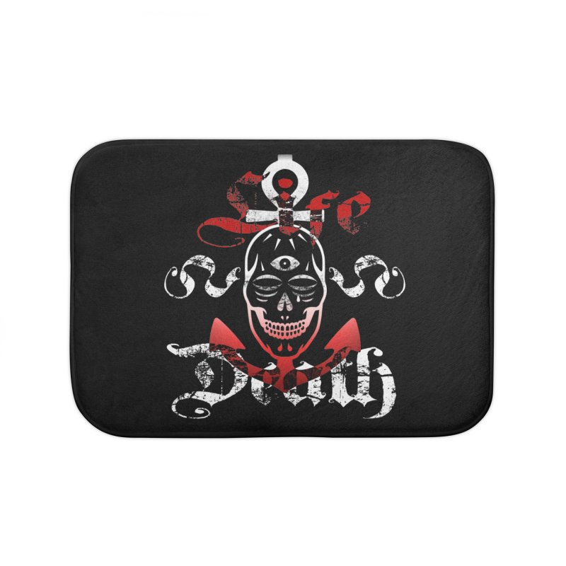 Skull Ankhor Home Bath Mat by BRAVO's Shop