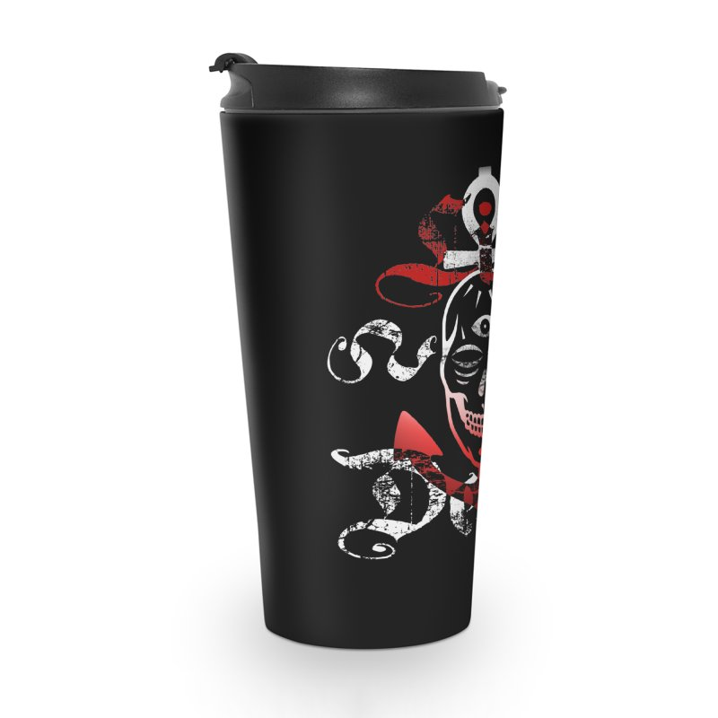 Skull Ankhor Accessories Travel Mug by BRAVO's Shop