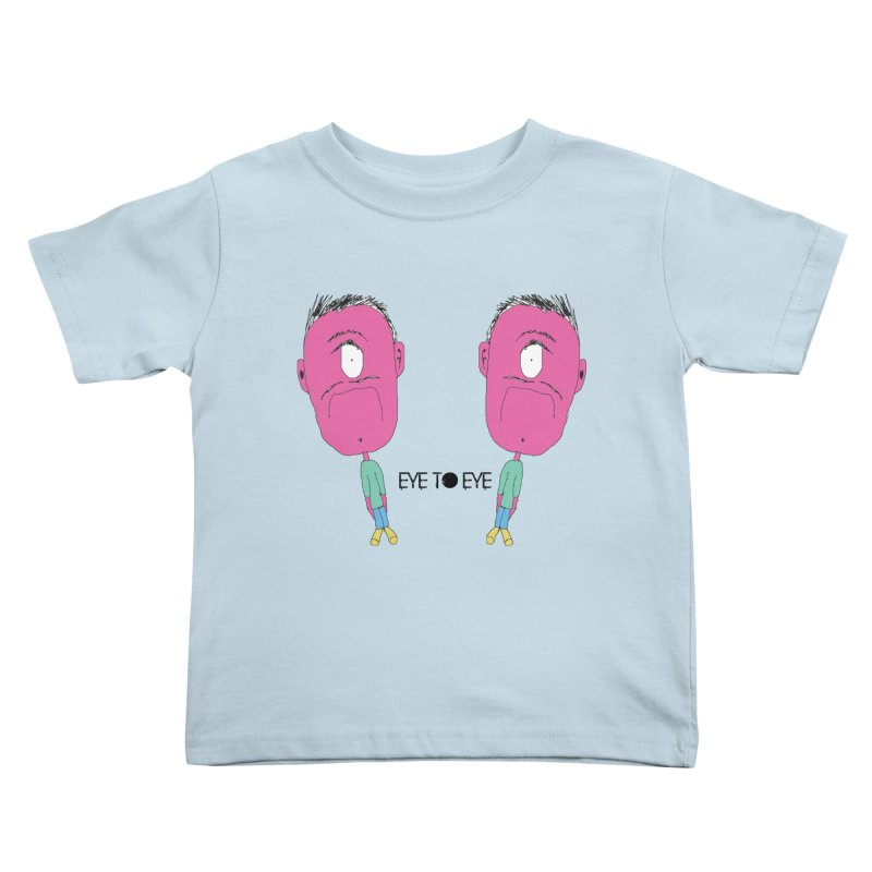 eye to eye Kids Toddler T-Shirt by BRIANWANDTKEART's Artist Shop