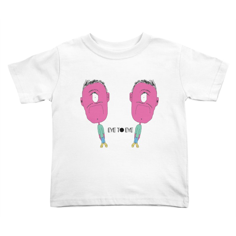eye to eye Kids Toddler T-Shirt by BRIANWANDTKEART's Artist Shop
