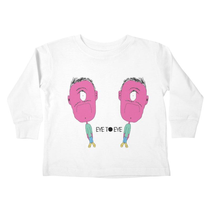 eye to eye Kids Toddler Longsleeve T-Shirt by BRIANWANDTKEART's Artist Shop