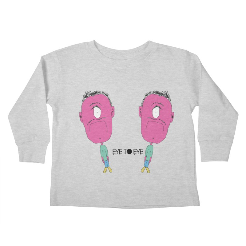 eye to eye Kids Toddler Longsleeve T-Shirt by BRIANWANDTKEART's Artist Shop