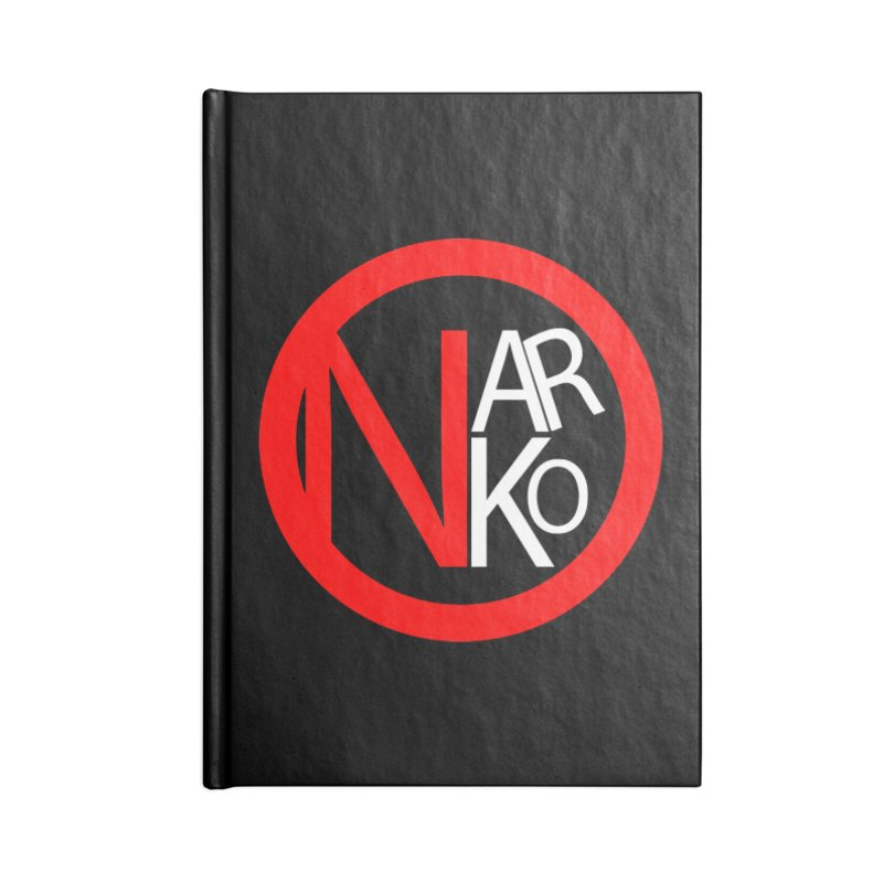 Narko Accessories Notebook by BRIANWANDTKEART's Artist Shop