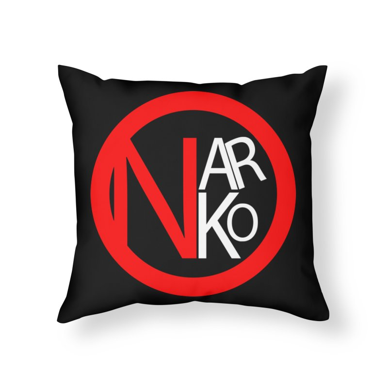Narko Home Throw Pillow by BRIANWANDTKEART's Artist Shop