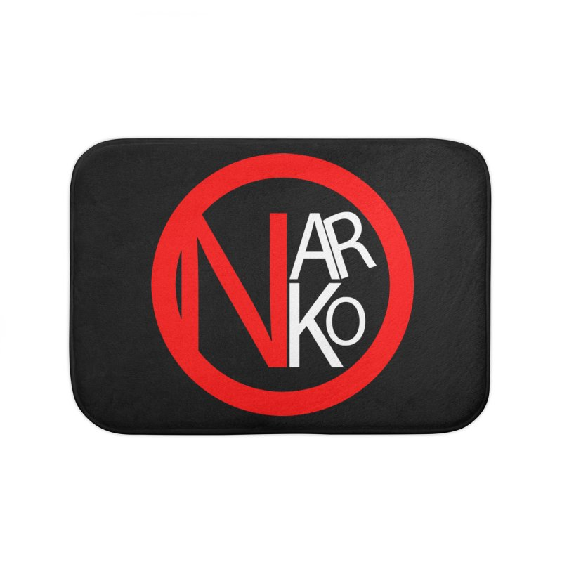 Narko Home Bath Mat by BRIANWANDTKEART's Artist Shop