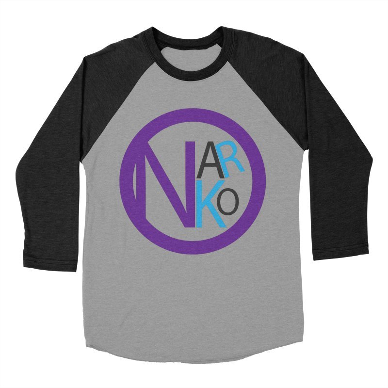 Narko Men's Baseball Triblend Longsleeve T-Shirt by BRIANWANDTKEART's Artist Shop