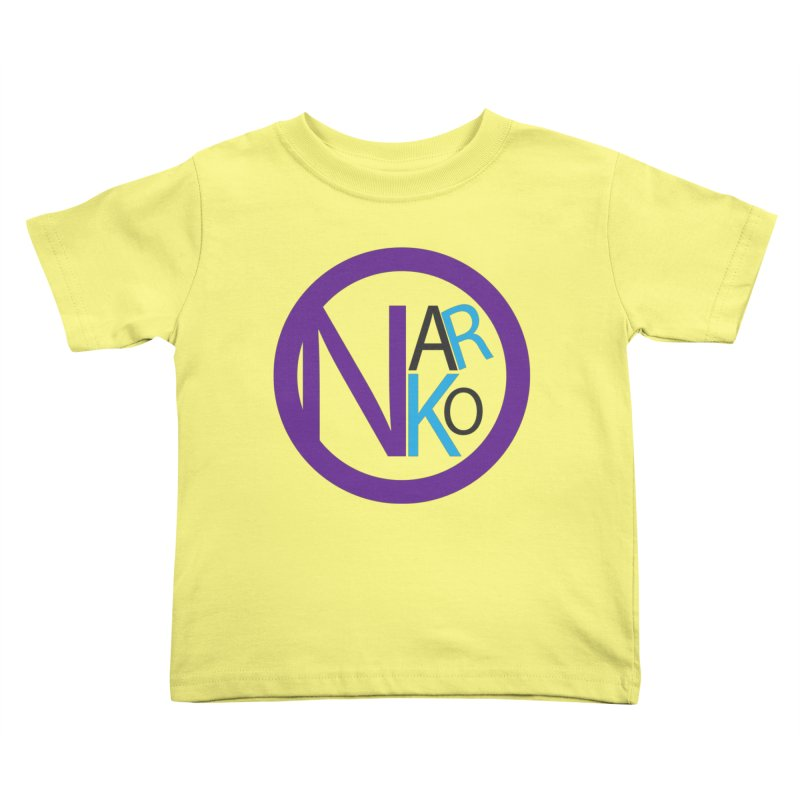 Narko Kids Toddler T-Shirt by BRIANWANDTKEART's Artist Shop