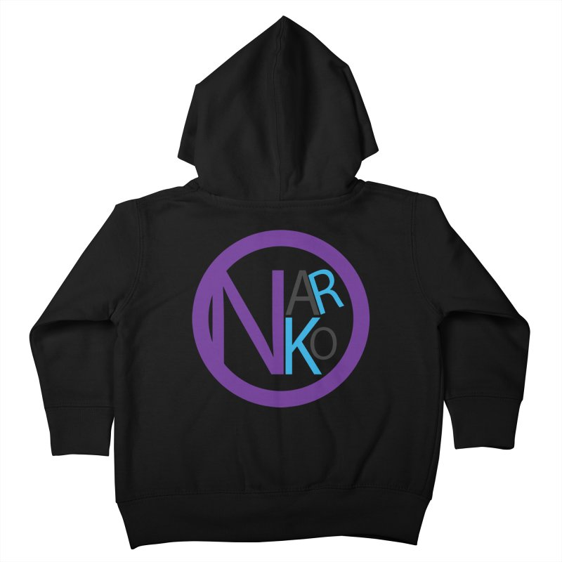 Narko Kids Toddler Zip-Up Hoody by BRIANWANDTKEART's Artist Shop