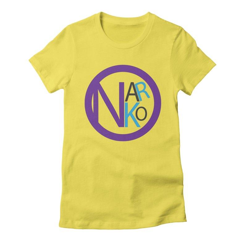 Narko Women's Fitted T-Shirt by BRIANWANDTKEART's Artist Shop