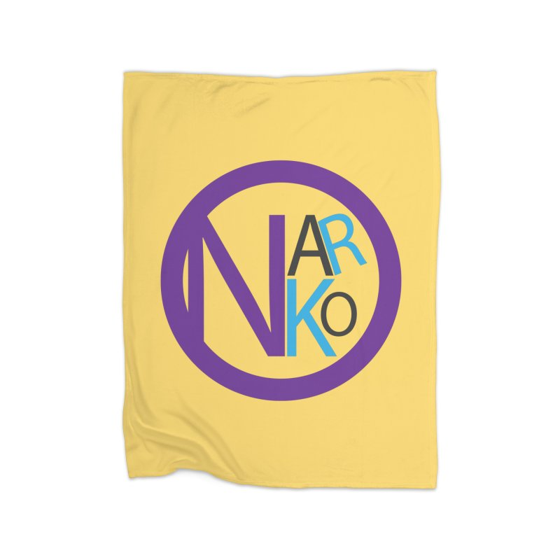 Narko Home Blanket by BRIANWANDTKEART's Artist Shop