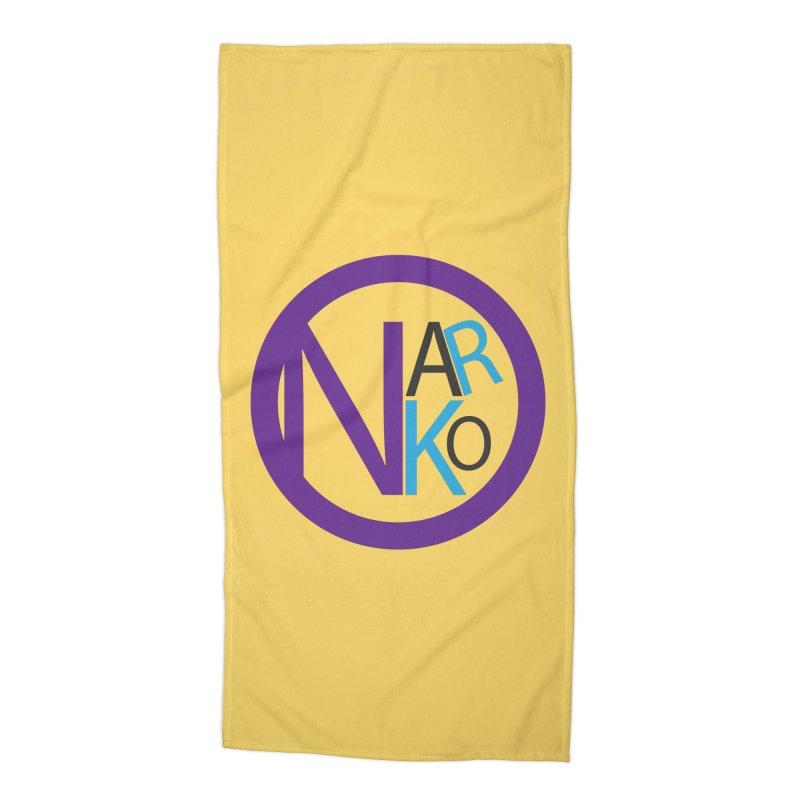 Narko Accessories Beach Towel by BRIANWANDTKEART's Artist Shop