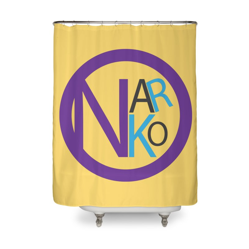 Narko Home Shower Curtain by BRIANWANDTKEART's Artist Shop