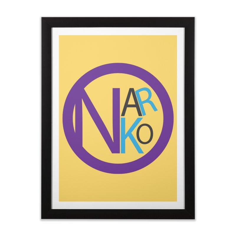 Narko Home Framed Fine Art Print by BRIANWANDTKEART's Artist Shop
