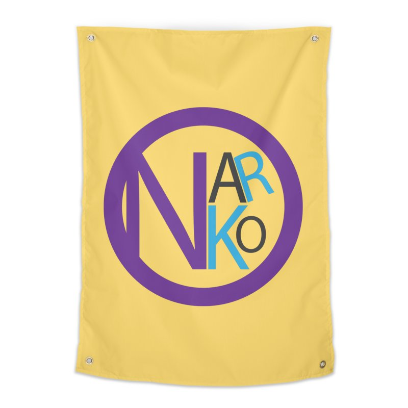 Narko Home Tapestry by BRIANWANDTKEART's Artist Shop