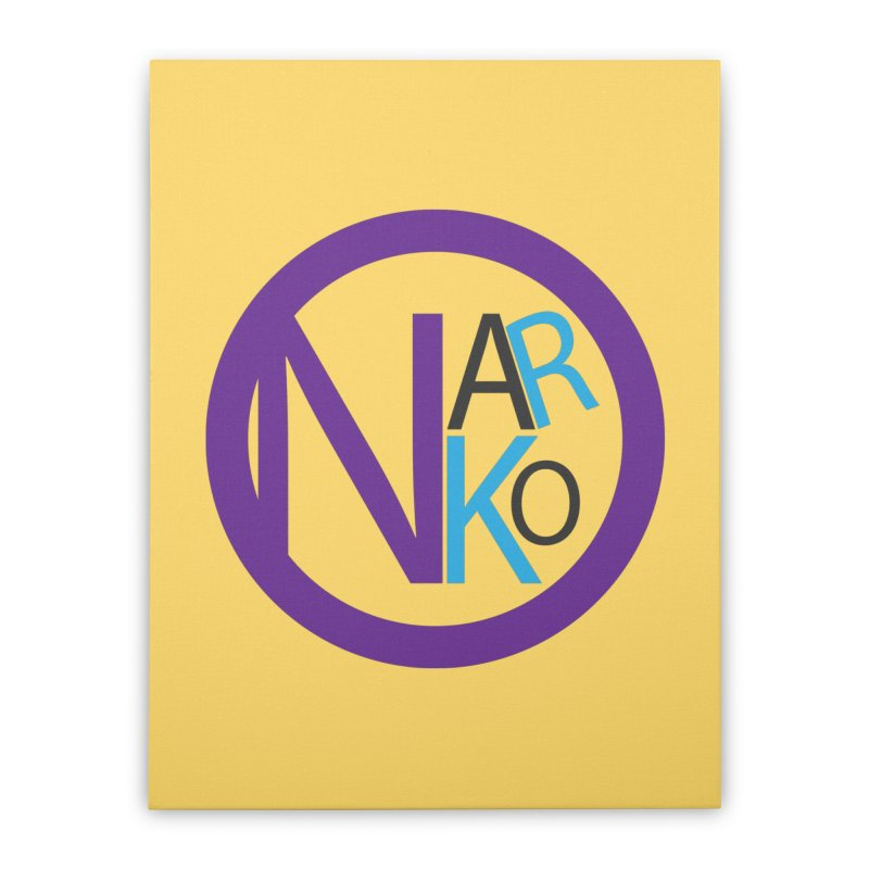 Narko Home Stretched Canvas by BRIANWANDTKEART's Artist Shop