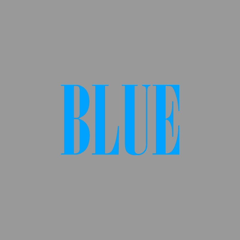 Blue by BRIANWANDTKEART's Artist Shop