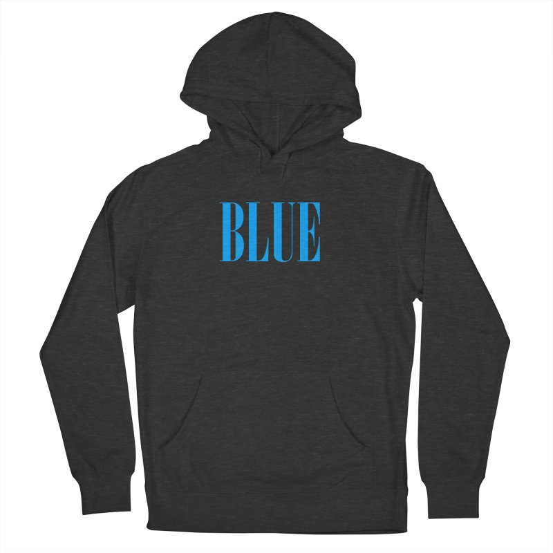 Blue Men's Pullover Hoody by BRIANWANDTKEART's Artist Shop