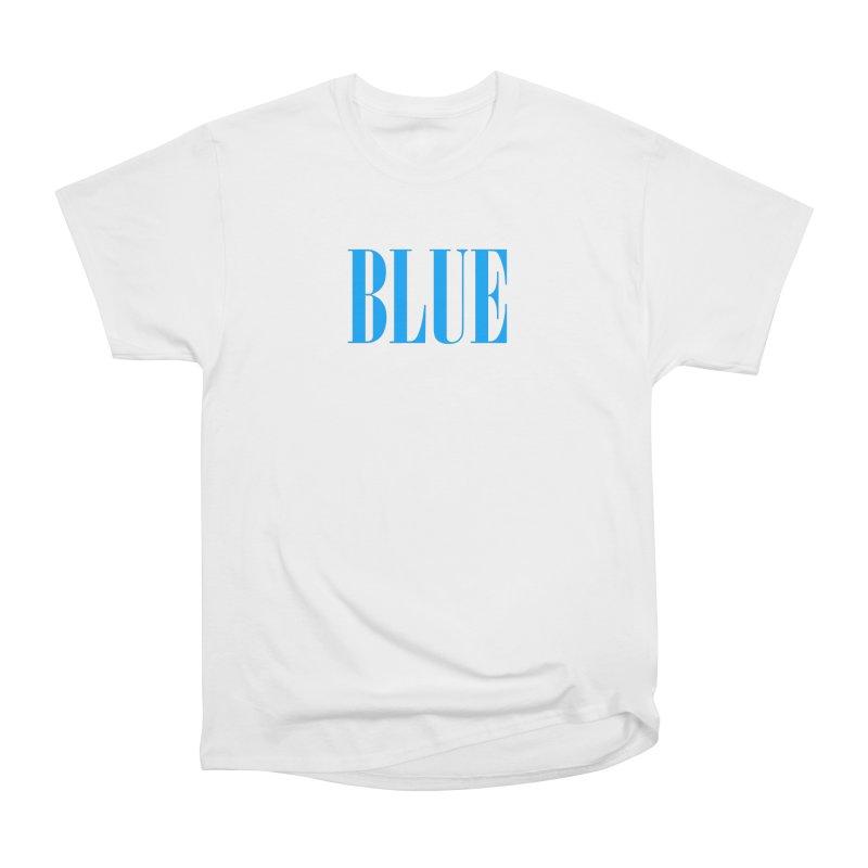 Blue Men's Heavyweight T-Shirt by BRIANWANDTKEART's Artist Shop