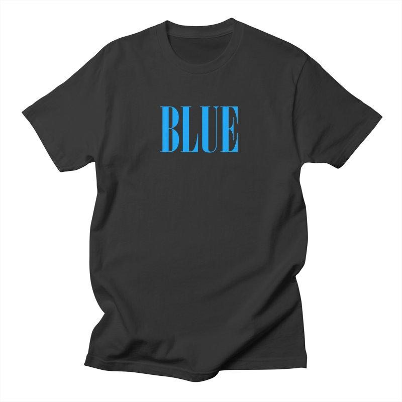 Blue Men's T-Shirt by BRIANWANDTKEART's Artist Shop
