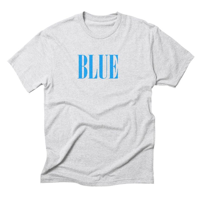 Blue Men's Triblend T-Shirt by BRIANWANDTKEART's Artist Shop