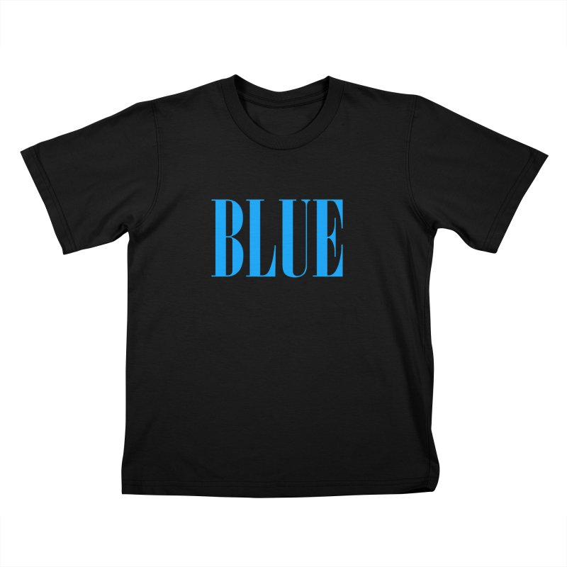 Blue Kids T-Shirt by BRIANWANDTKEART's Artist Shop