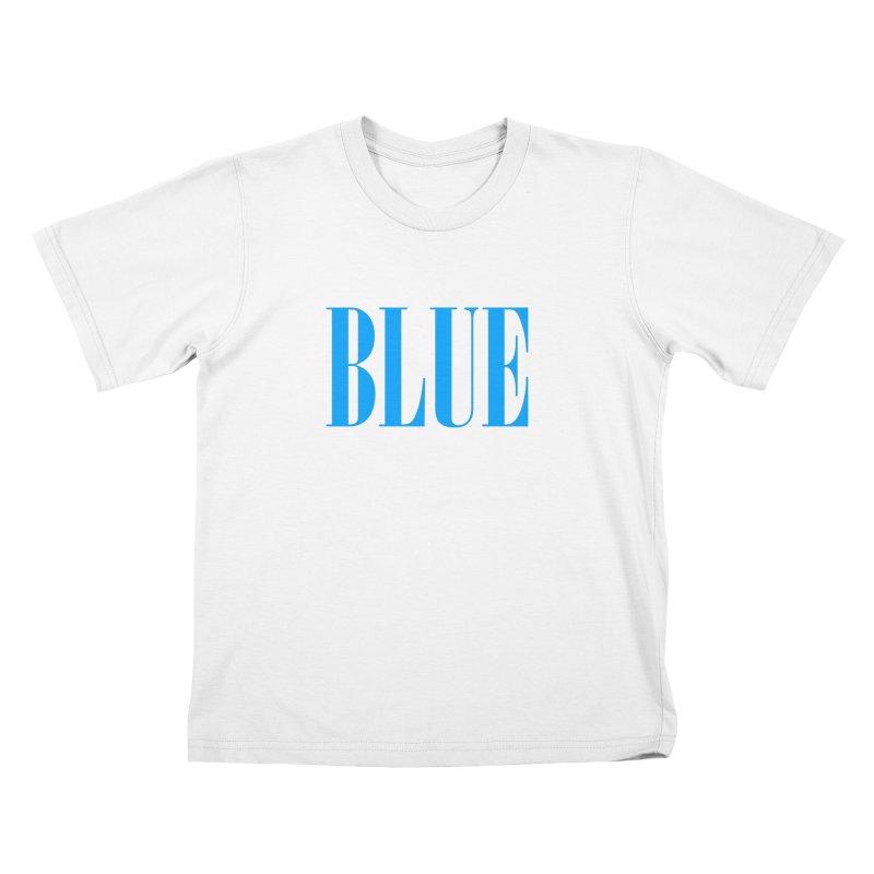 Blue Kids T-Shirt by BRIANWANDTKEART's Artist Shop