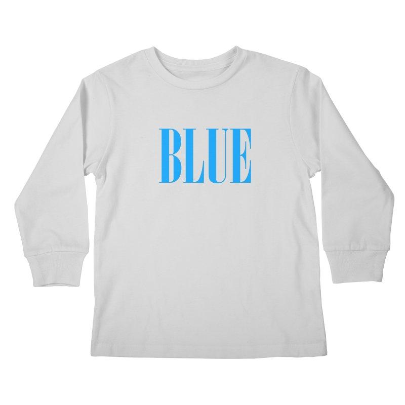 Blue Kids Longsleeve T-Shirt by BRIANWANDTKEART's Artist Shop