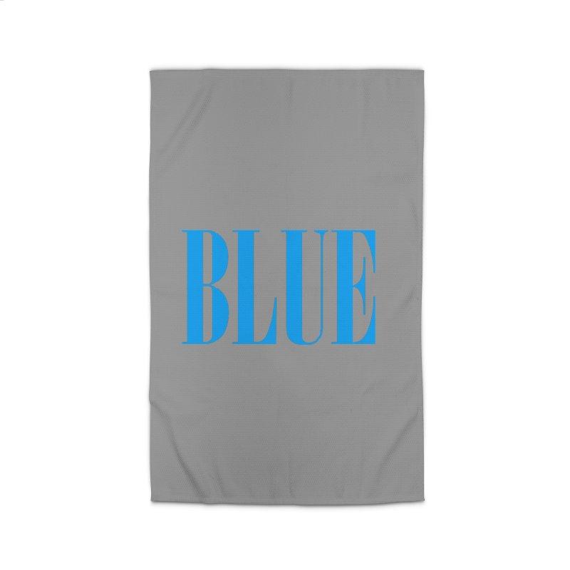 Blue Home Rug by BRIANWANDTKEART's Artist Shop