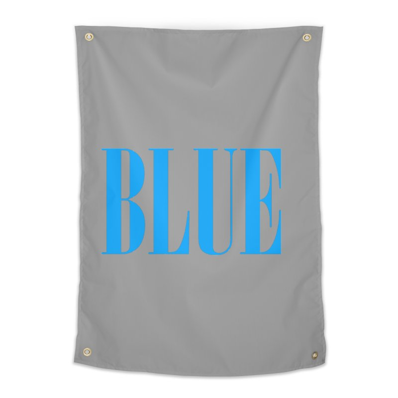 Blue Home Tapestry by BRIANWANDTKEART's Artist Shop