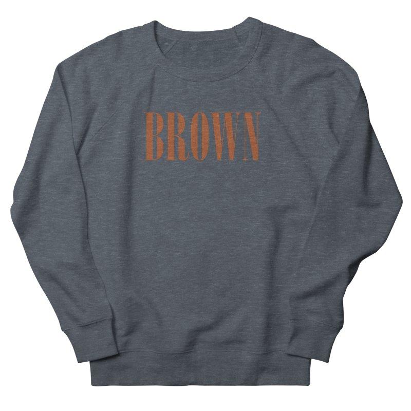 Brown Men's Sweatshirt by BRIANWANDTKEART's Artist Shop