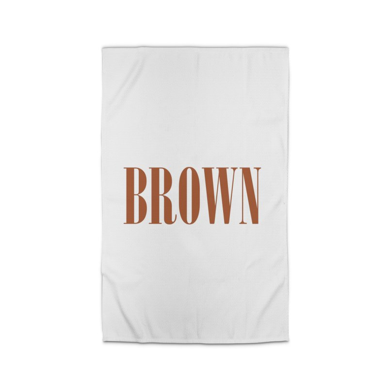 Brown Home Rug by BRIANWANDTKEART's Artist Shop