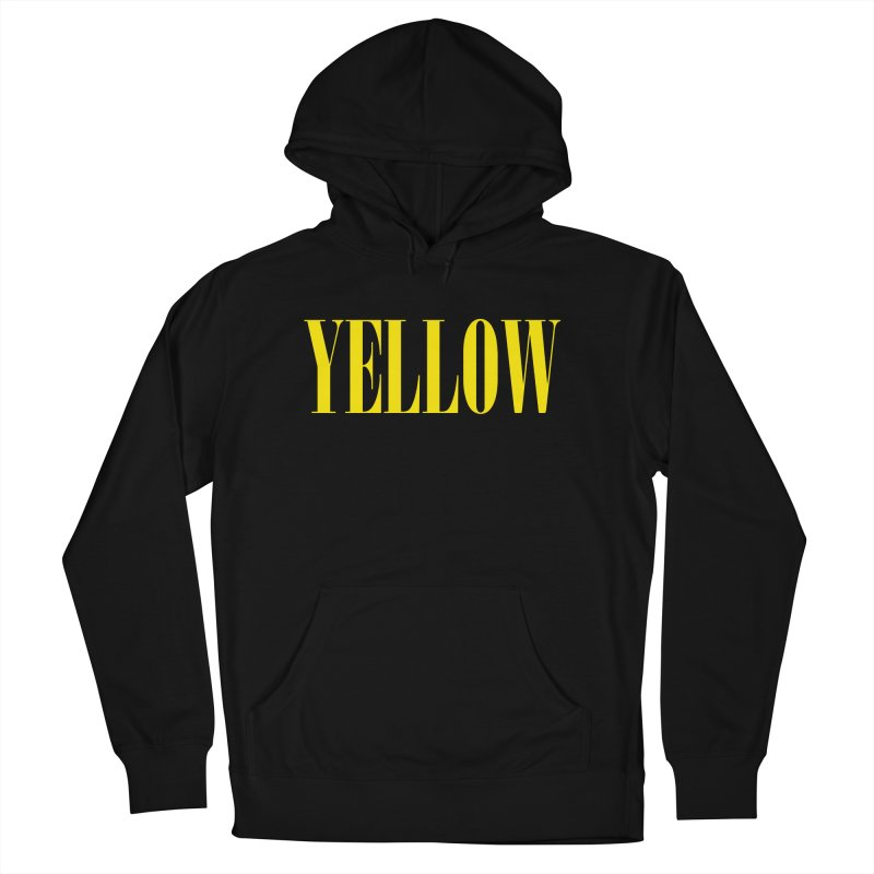 Yellow Women's French Terry Pullover Hoody by BRIANWANDTKEART's Artist Shop