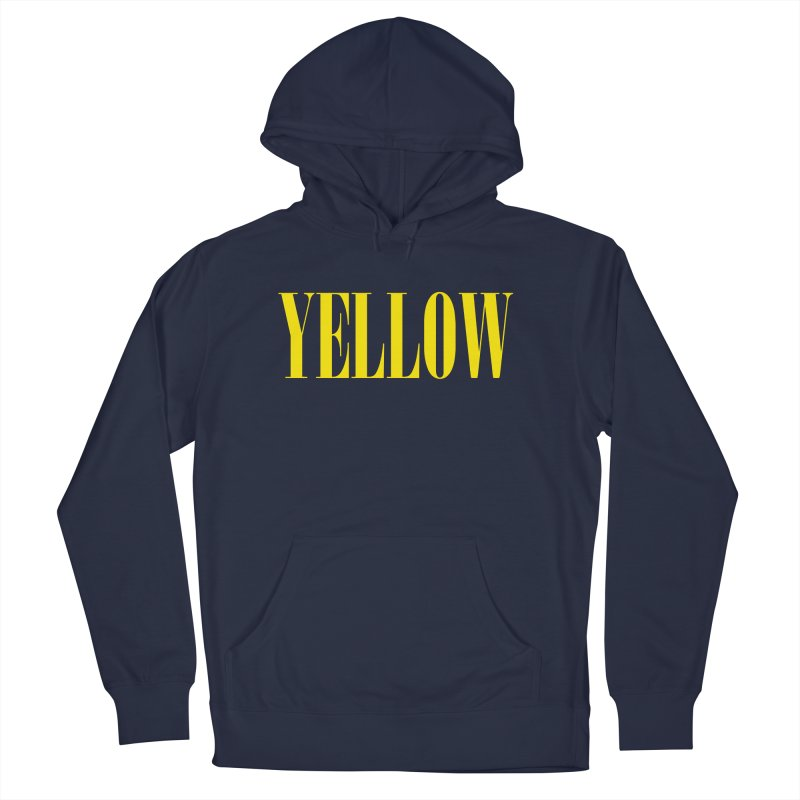 Yellow Men's Pullover Hoody by BRIANWANDTKEART's Artist Shop