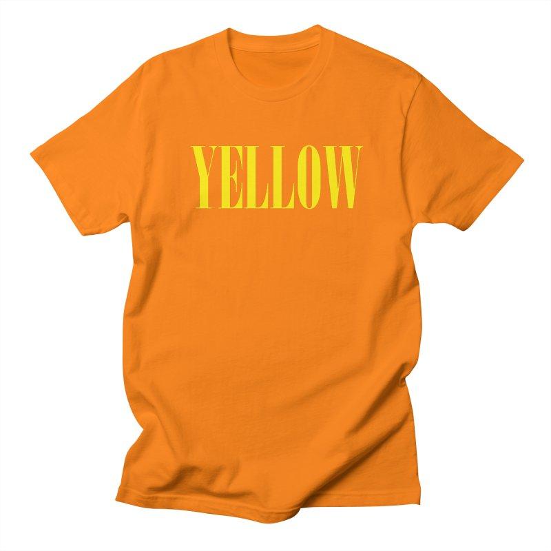 Yellow Women's Unisex T-Shirt by BRIANWANDTKEART's Artist Shop