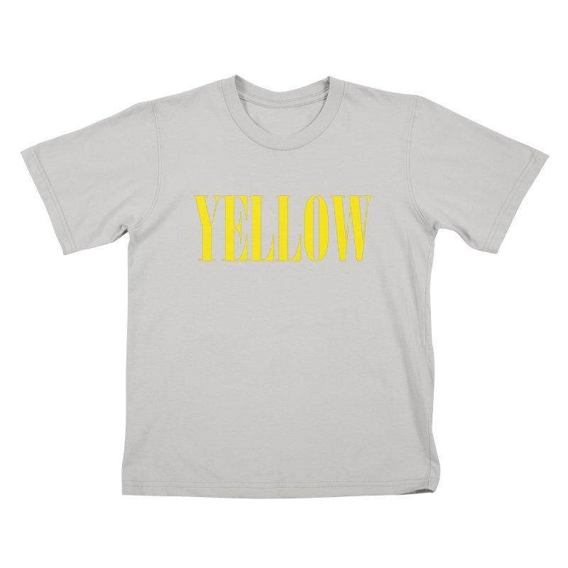 Yellow Kids T-Shirt by BRIANWANDTKEART's Artist Shop