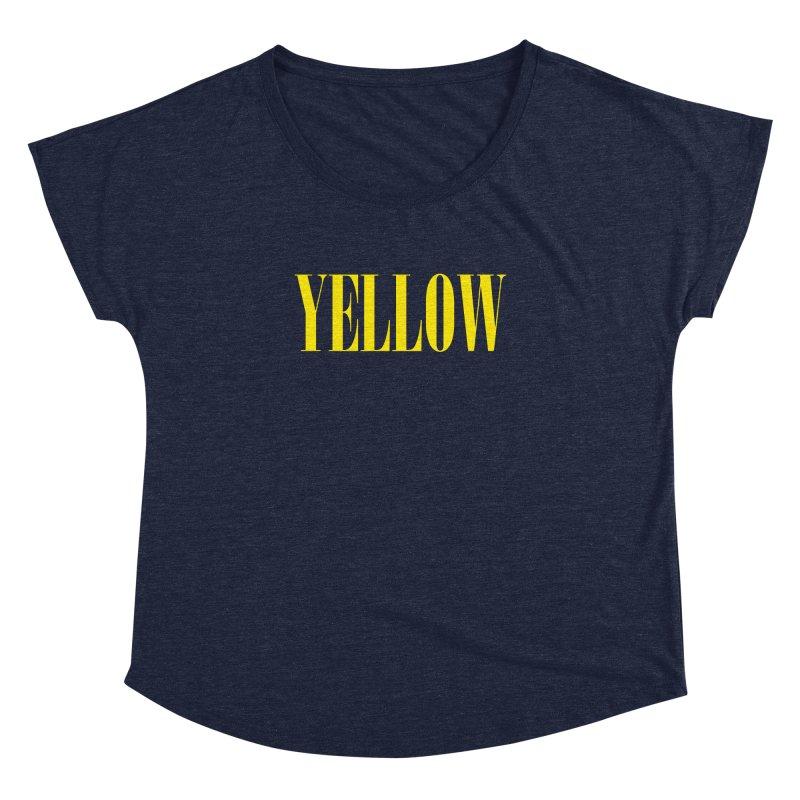 Yellow Women's Dolman by BRIANWANDTKEART's Artist Shop