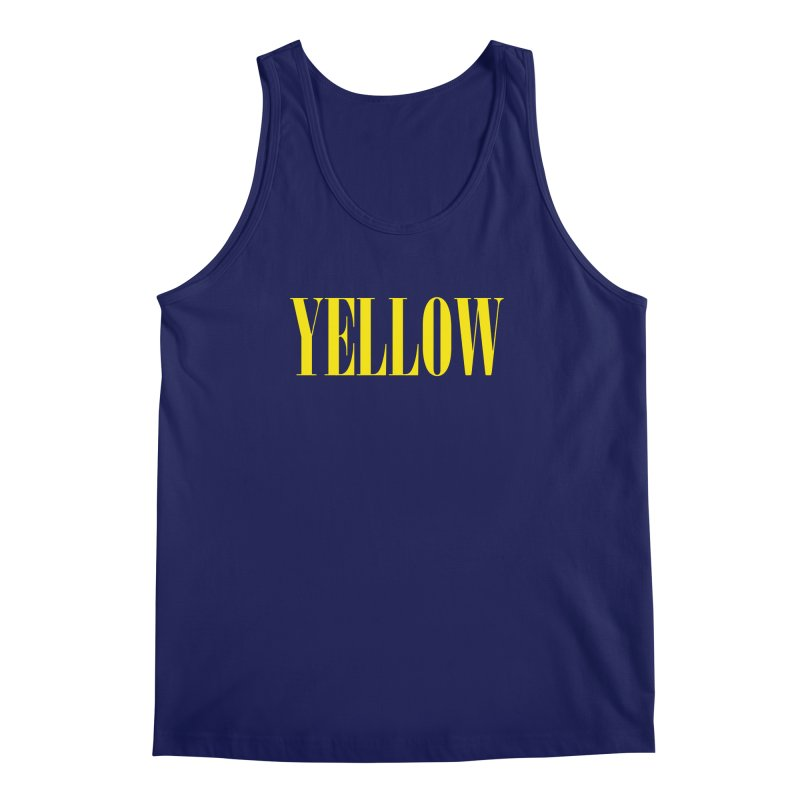 Yellow Men's Tank by BRIANWANDTKEART's Artist Shop