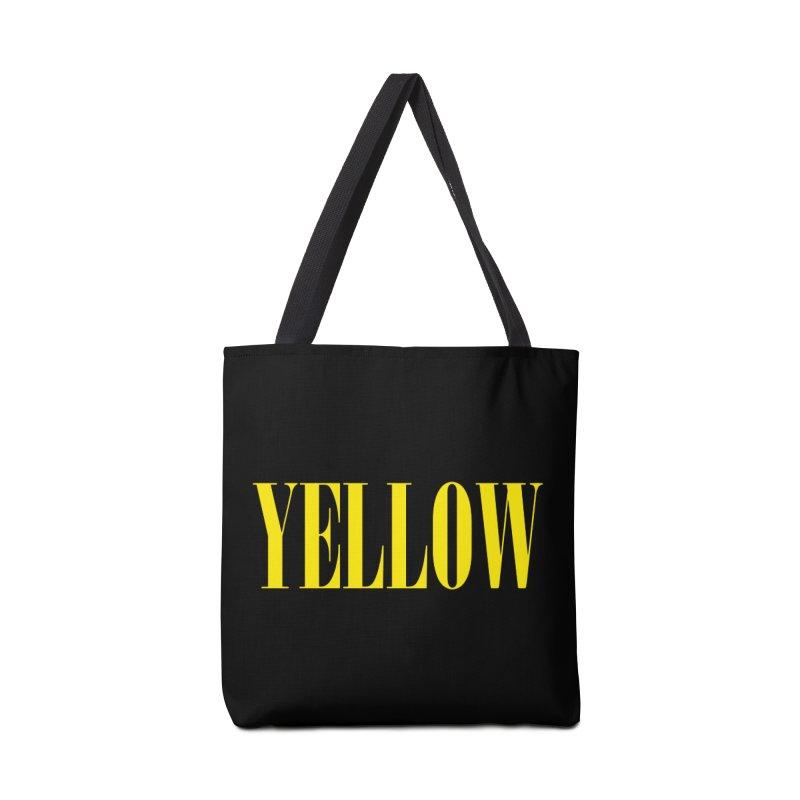 Yellow Accessories Bag by BRIANWANDTKEART's Artist Shop
