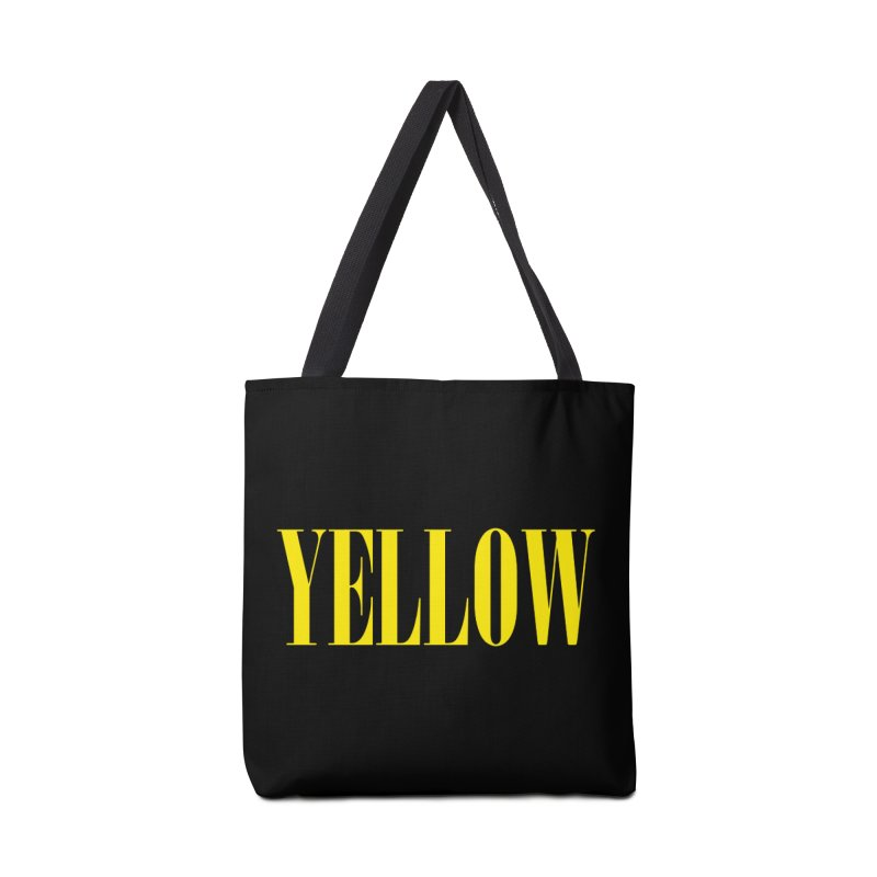 Yellow Accessories Bag by BRIANWANDTKEART's Artist Shop