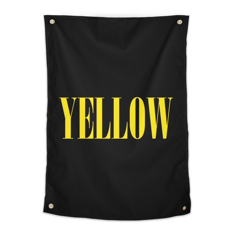 Yellow Home Tapestry by BRIANWANDTKEART's Artist Shop