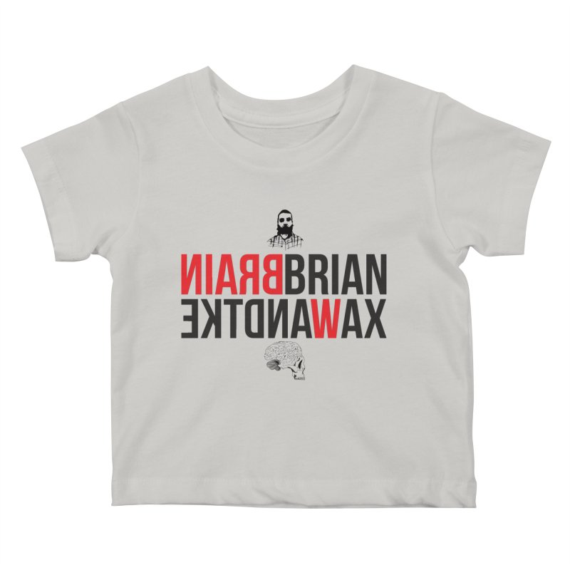 Title Exile Kids Baby T-Shirt by BRIANWANDTKEART's Artist Shop