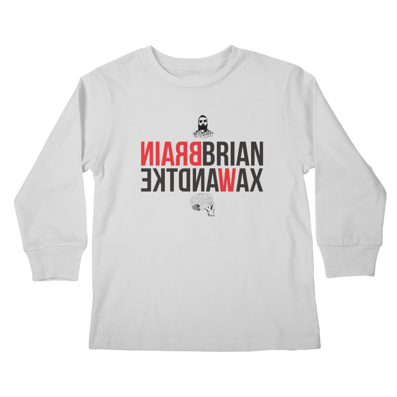 Title Exile Kids Longsleeve T-Shirt by BRIANWANDTKEART's Artist Shop